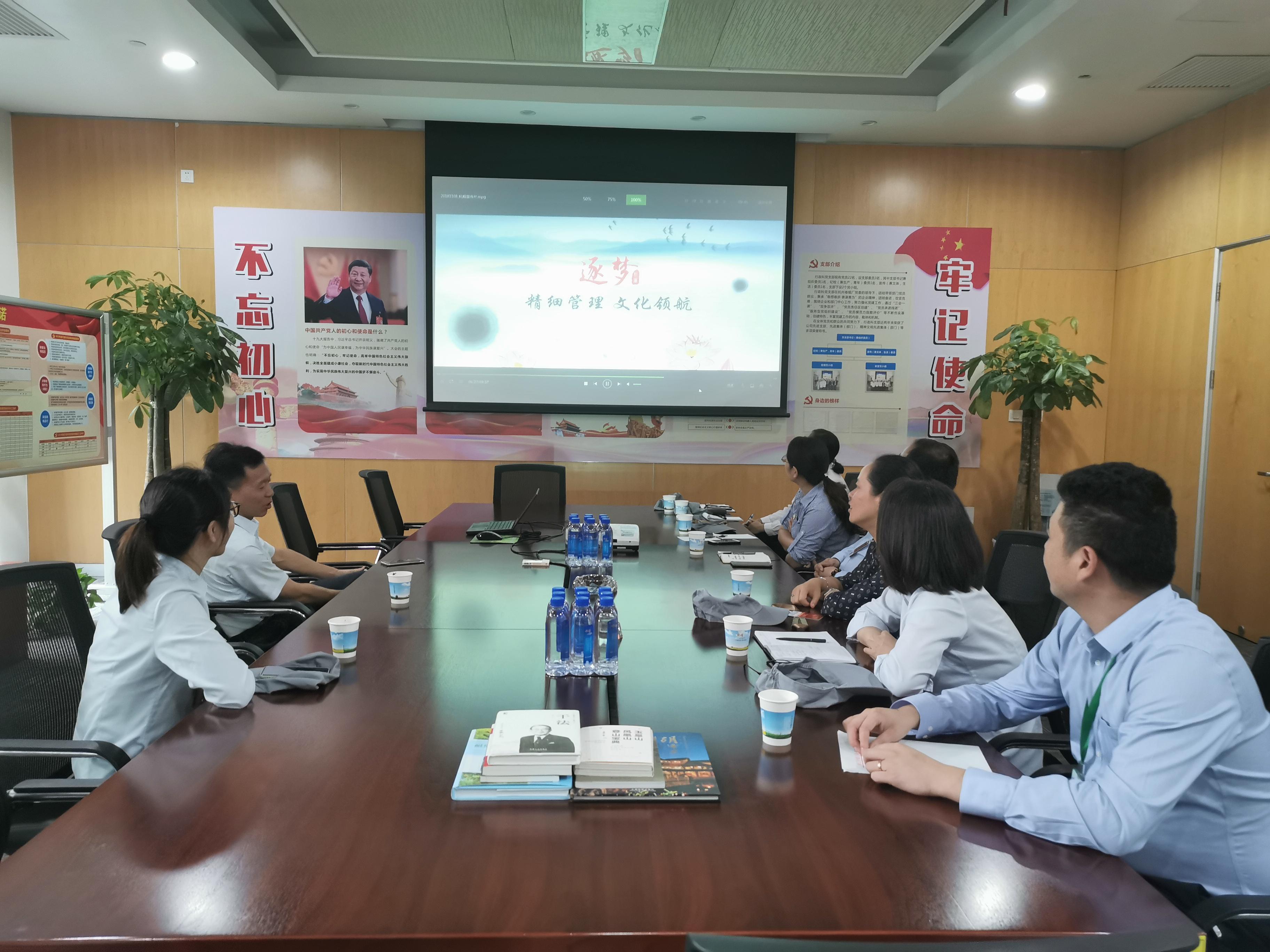 物业服务中心第六党支部组织主题教育调研活动